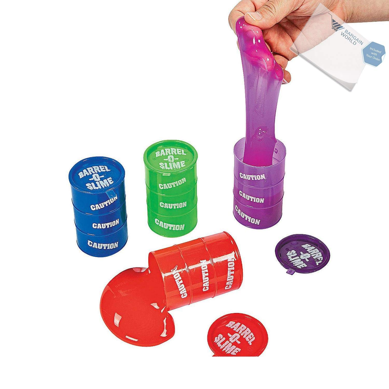 Barrel-O'-Slime (With Sticky Notes)