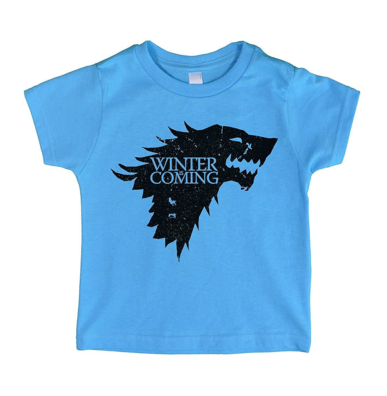 """Cute Game of Thrones Inspired Toddler T-Shirt /""""Winter Is Coming/"""" RB Clothing Co"""