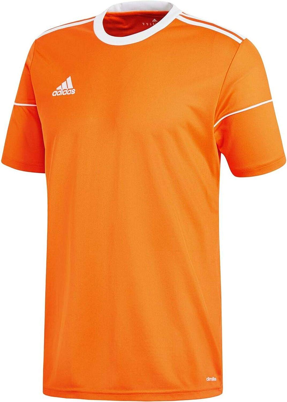 adidas Squadra 17 Jersey SS Maillot Homme, OrangeWhite, FR