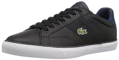 495e0cde96d56 Lacoste Men s Fairlead 317 2 Sneaker Black 9.5 ...