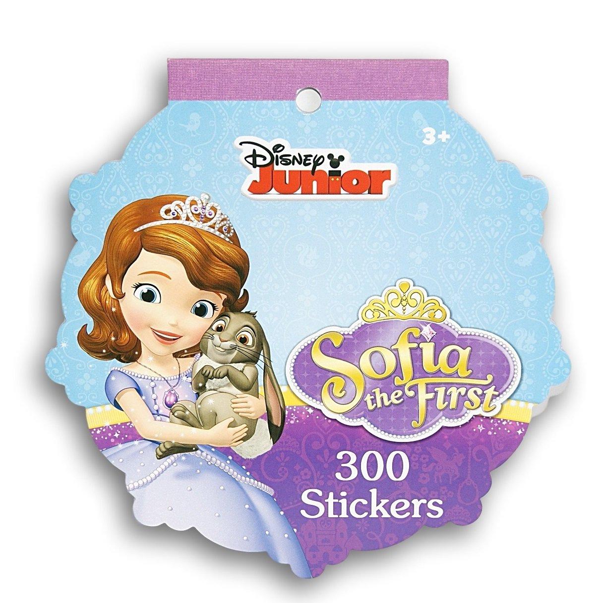 300 Stickers Stickerfitti Sofia the First Sticker Pad