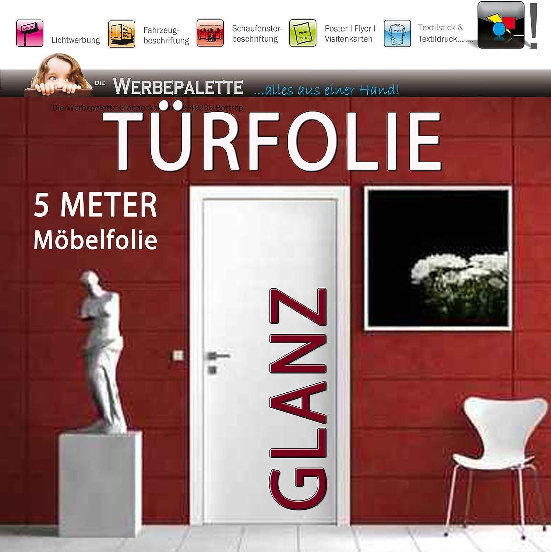 Die Werbepalette - Plotter adhesivo decorativo para puertas (5 m x ...