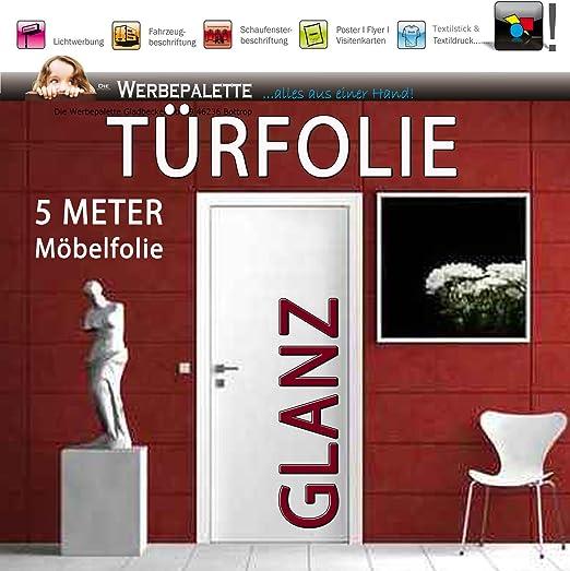 Die Werbepalette - Plotter adhesivo decorativo para puertas (5 m x 105 cm): Amazon.es: Hogar