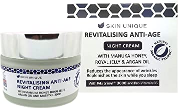 Revitalising Anti-Age Night Cream 50 ml – Natural & Organic anti-ageing  formula