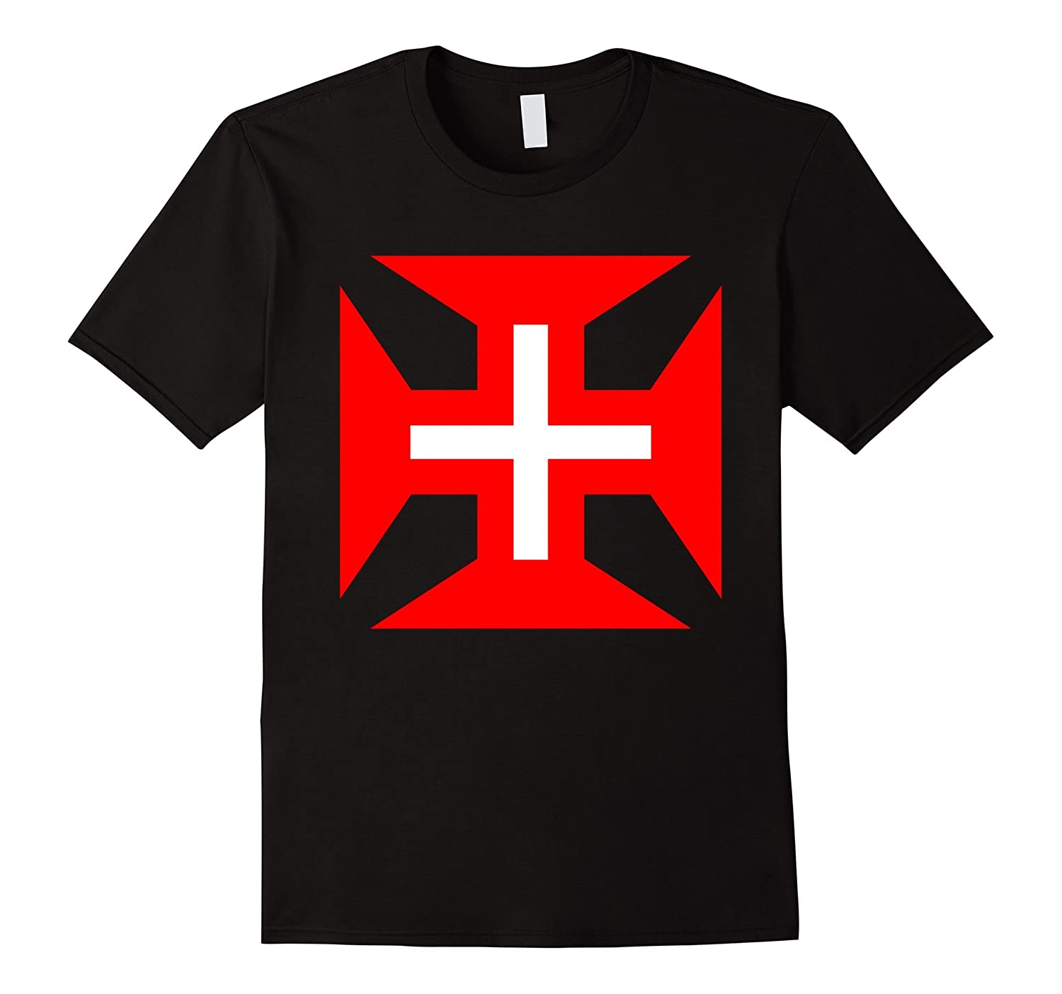 d6dbd2704 Order of Christ Cross T-Shirt Portugal Brazil Graphic Tee-ANZ ...