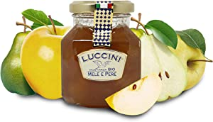 Luccini Artisanal Apple and Pear Mostarda - Italian Speciality Food, Traditional Recipe - 240g / 8.46oz