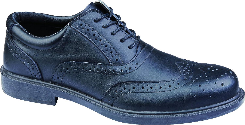 DeltaplusメンズRichmond低作業レザー安全靴 B00NZCR7WOブラック 13 D(M) US