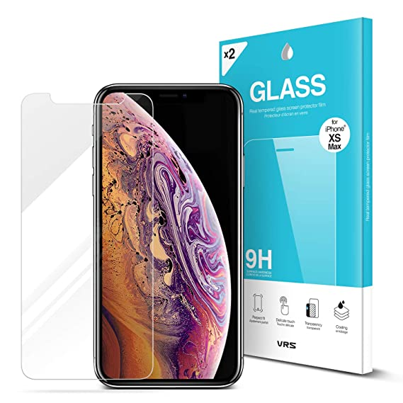 Giveaway iphone xs max screen protector front and back anti scratch
