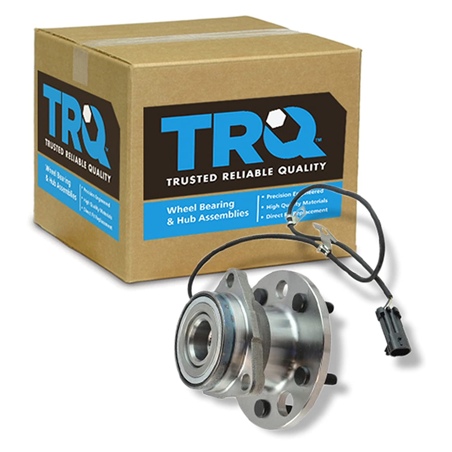TRQ Front Wheel Hub & Bearing Assembly for 95-02 Chevy Astro Safari AWD
