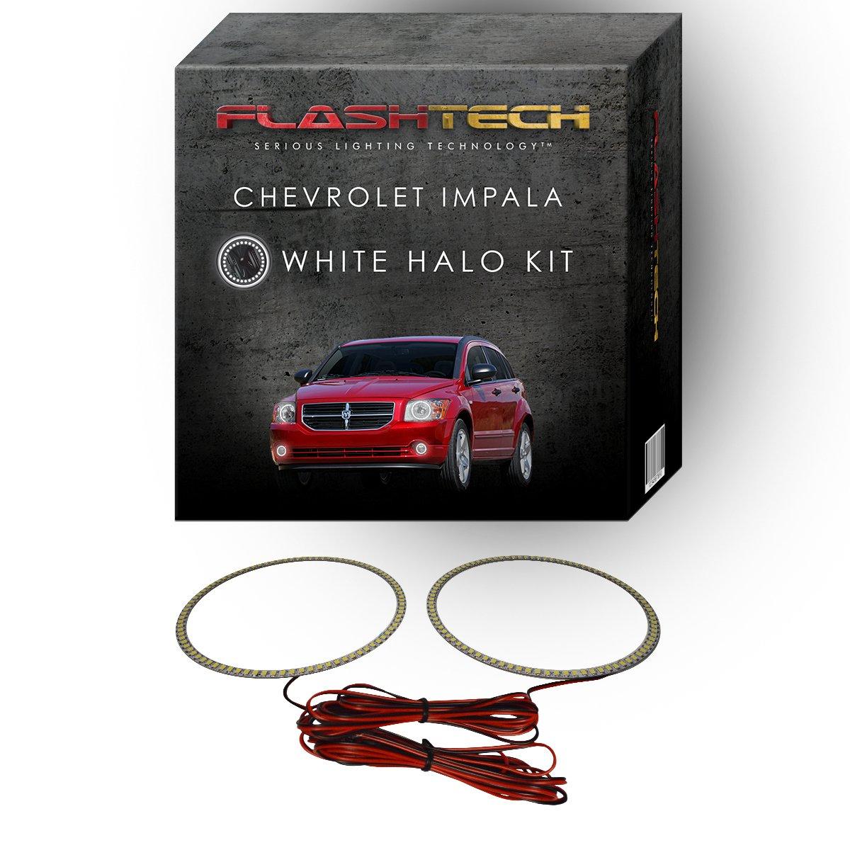 Flashtech Dodge Caliber 07 12 V3 Fusion Color Change Headlight Wiring Rgb Multi Led Halo Ring Kit With Rf Remote Automotive