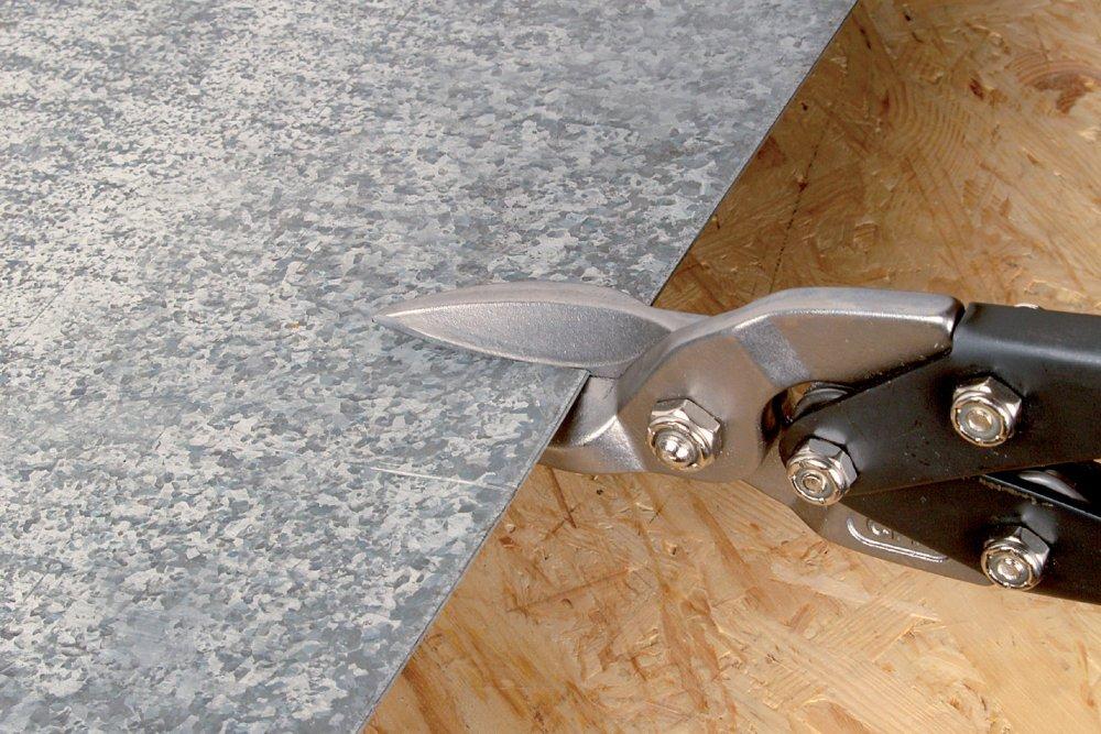 Wolfcraft 4027000 Forbici per profili metallo