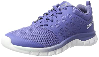 84626e08e23 Reebok Women s Sublite Xt Cushion 2.0 Mt Running Shoes Pink (Lilac  Shadow Fresh Blue