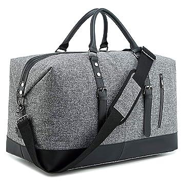 Amazon.com: Bluboon - Bolsa de viaje ligera para hombre y ...