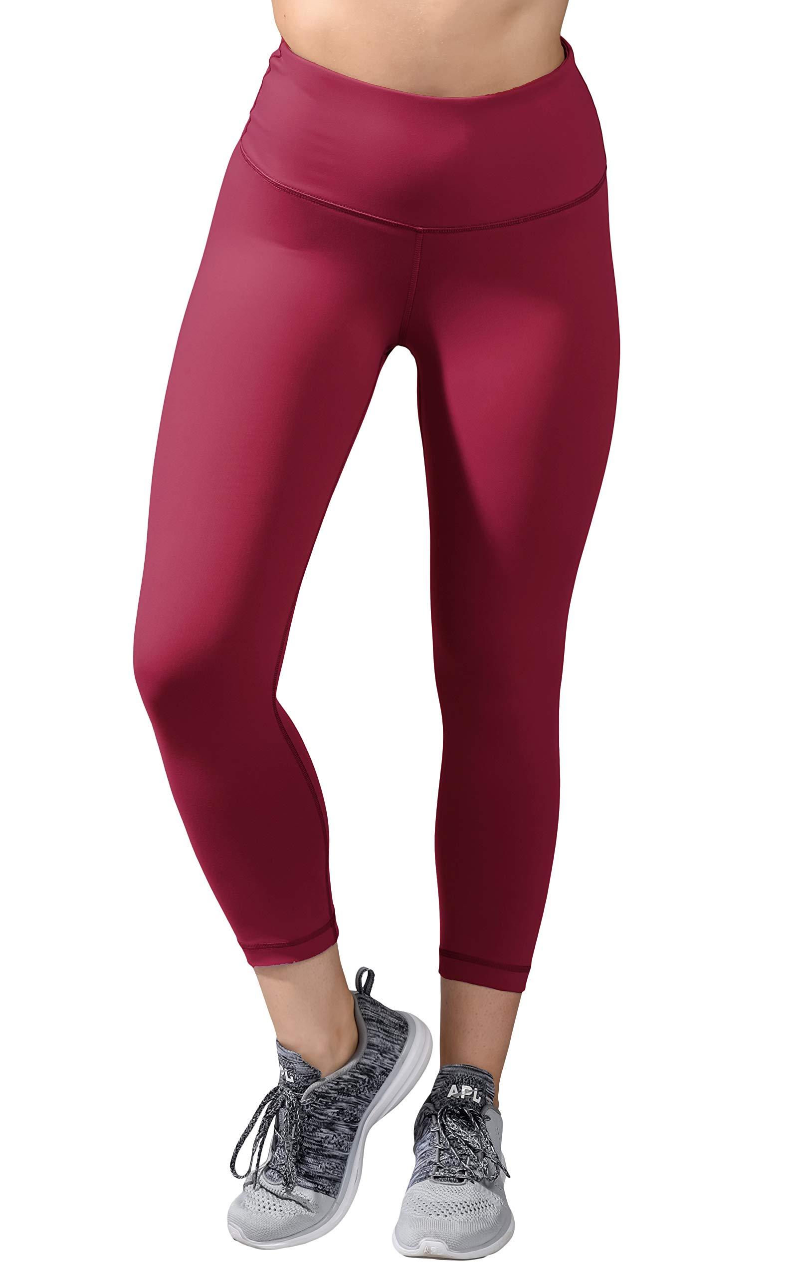 90 Degree By Reflex - High Waist Tummy Control Shapewear - Power Flex Capri - Royal Kir - XS by 90 Degree By Reflex