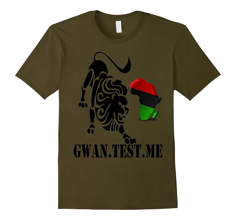 AFRICAN PRIDE Lion Alkebulan Kemet Clothing T Shirt Tee-CD