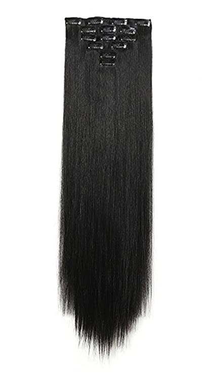 Buy Majik 6 Pcs Synthetic Hair Extensions For Women And Girls With