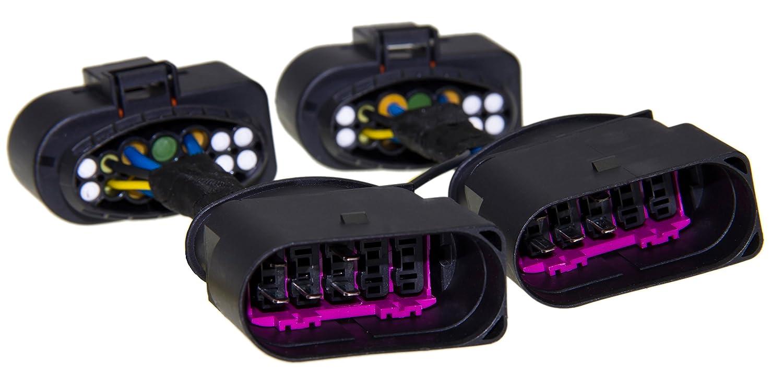 Adapter-Universe® Bi-Xenon Kurvenlicht Adapter Kabel Kabelbaum 10pol ...