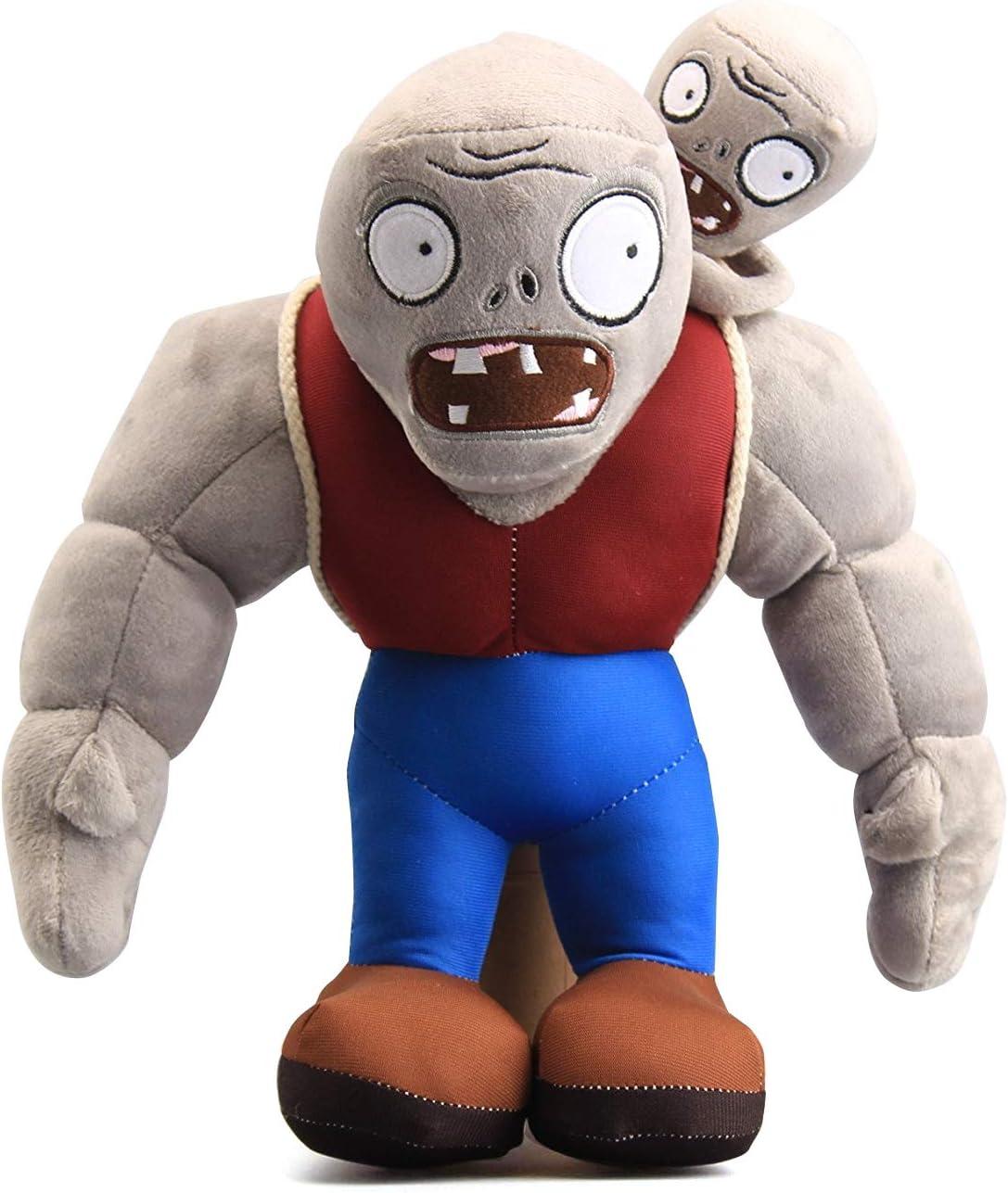 "Maikerry 12"" PVZ Gargantuar Zombies Plush Toys Stuffed Soft Doll Muscle Zombies"