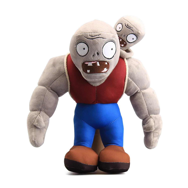Maikerry 12'' PVZ Gargantuar Zombies Plush Toys Stuffed Soft Doll Muscle Zombies by Maikerry