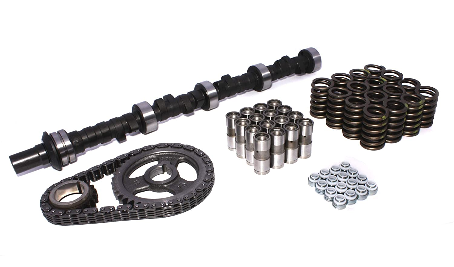 COMP Cams CL92-203-4 High Energy 218//218 Hydraulic Flat Cam and Lifter Kit for Buick 350