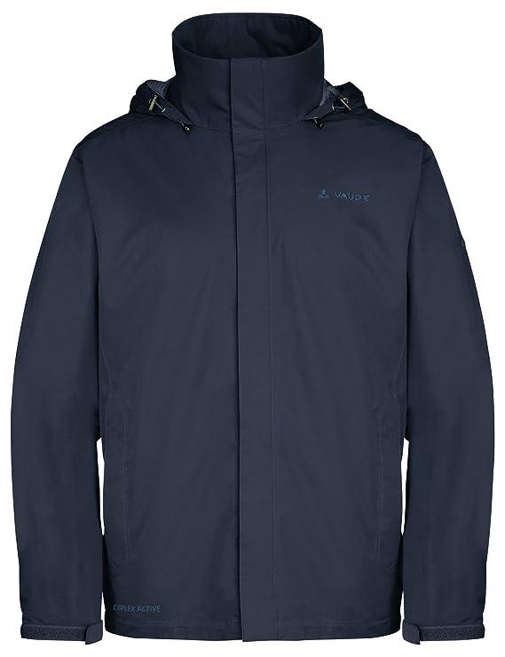 VAUDE Mens Escape Light Rain Jacket - Lightweight Waterproof Jacket - Rain Jacket for Walking, Hiking or Cycling
