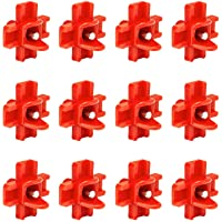 Kaxofang 12 Pack - Horizontal Side Mount Automatic Poultry Nipples - Clean Drinker Waterer for Chicken Or Quail