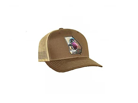 Amazon.com  Hunting and Fishing Depot Georgia Wood Duck State Patch ... 6c064969e54