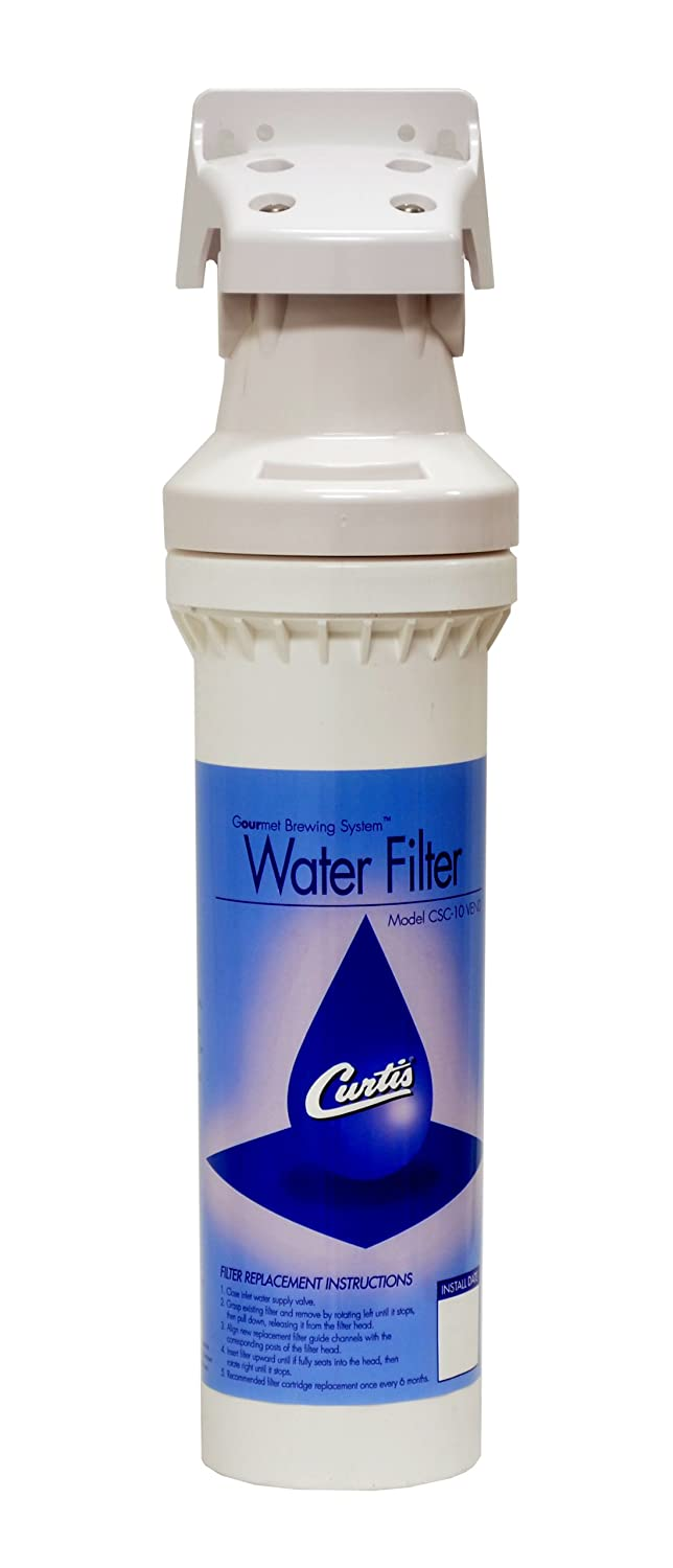 """Wilbur Curtis Water Filter 10"""" Vend Filter/Cartridge Assembly Complete - Commercial-Grade Water Filter with Enhanced Filtration - CSC10AV00 (Each)"""