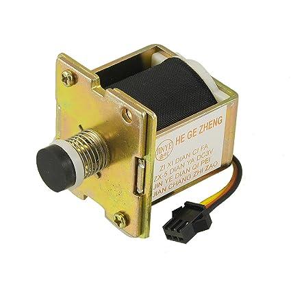 sourcingmap® GLP gas del calentador de agua auto absorción DC3V válvula solenoide