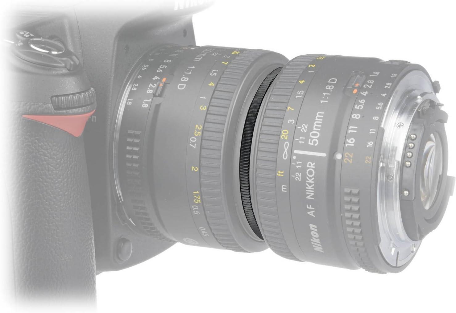 JJC Reverse Adaptor Macro Couplers 49mm to 52mm JU4952R