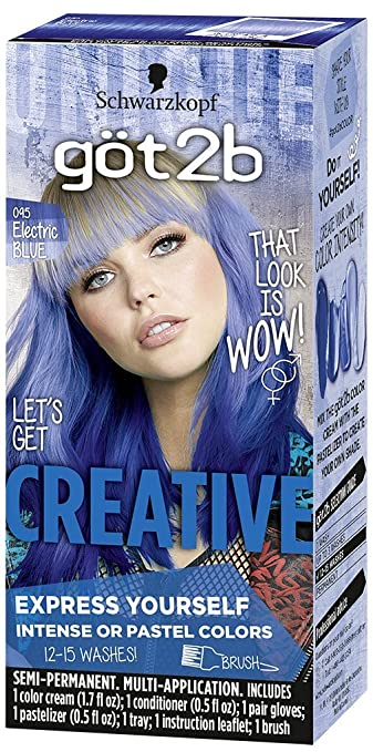 Amazon got2b creative semi permanent hair color 092 luscious amazon got2b creative semi permanent hair color 092 luscious red beauty solutioingenieria Choice Image