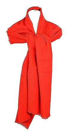 ac5da981873c Madame Dutilleul - Echarpe acrylique uni rouge  Amazon.fr  Vêtements ...