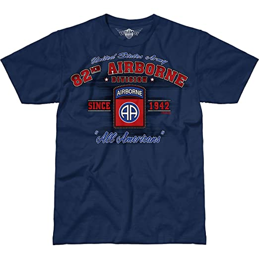 7.62 Design Army 82nd Airborne Division  Vintage  Men s Battlespace T-Shirt  SM 4ef9d3388