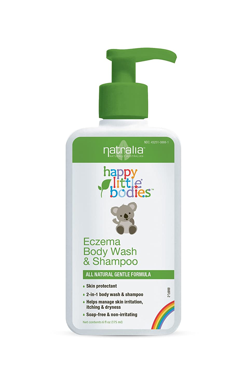 Natralia Happy Little Bodies Eczema Body Wash & Shampoo
