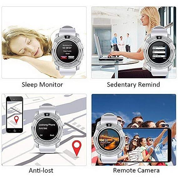 Eroihe Bluetooth Reloj Inteligente Monitor de Sueño Podómetro ...