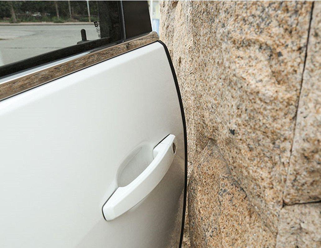 5/m//5/m Porte de voiture Bord gardes en forme de U Joint Joint en caoutchouc film de voiture Protection pour bord de porte Fit pour la plupart de voiture