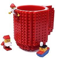 Kyonne Build on Brick Mug, Tasse Cadeaux pour Homme - Garçon - Fille, Idée Cadeau de Noël