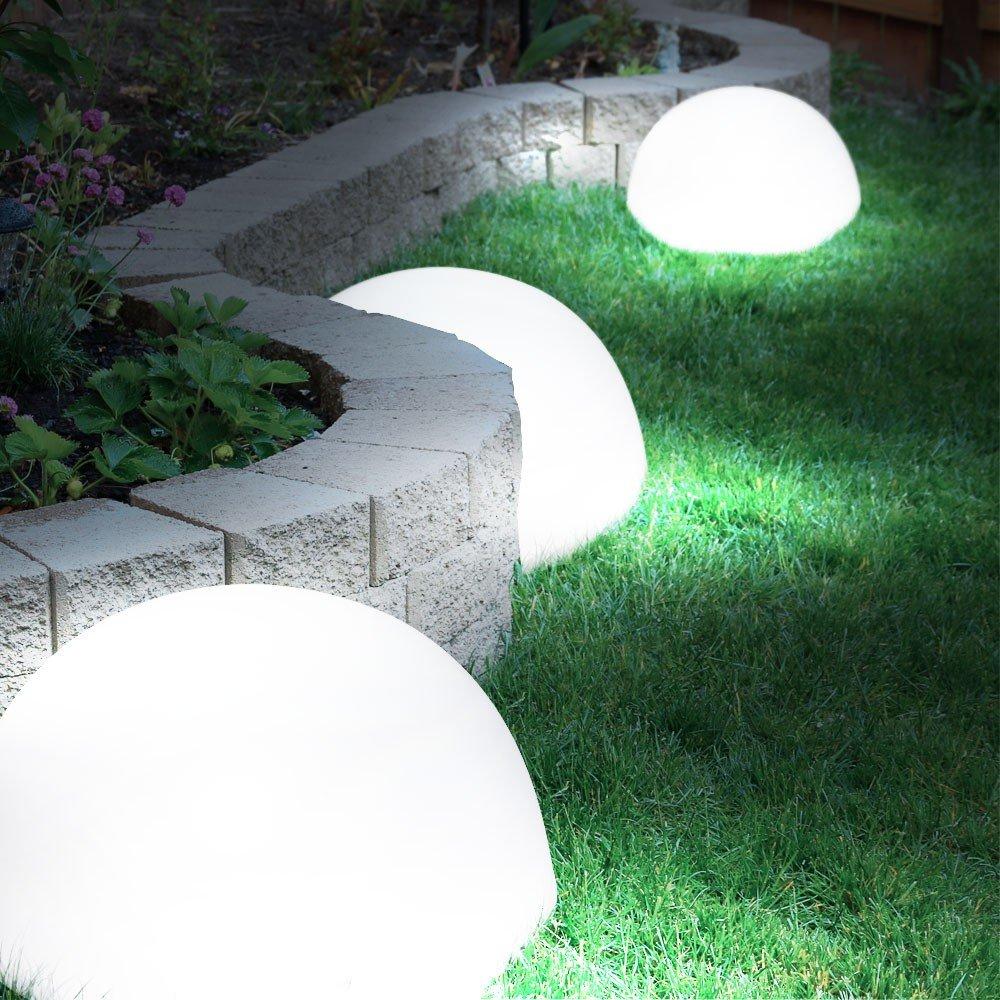 kugel solarleuchten f r den garten lk75 kyushucon. Black Bedroom Furniture Sets. Home Design Ideas