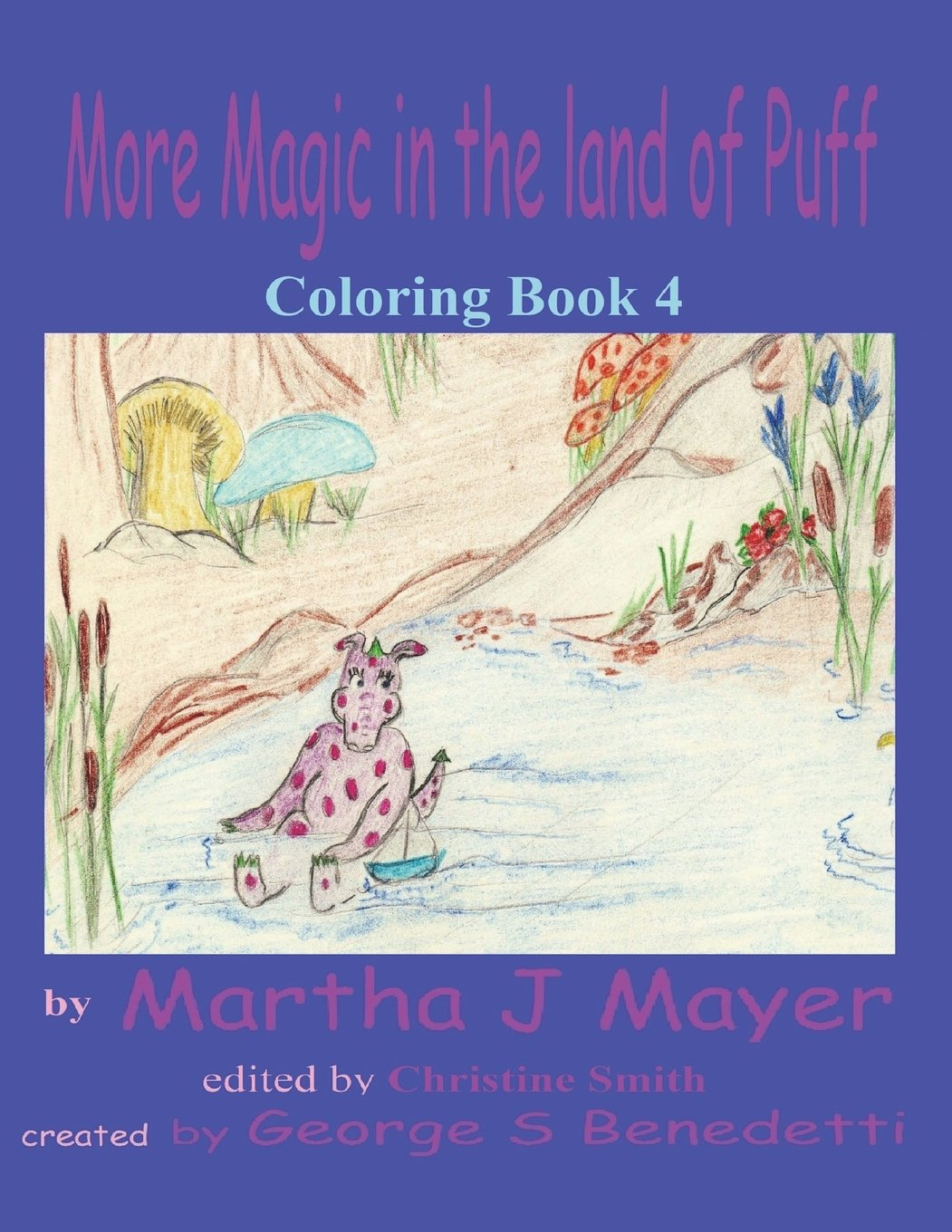 Download More Magic in the Land of Puff: Coloring Book 4 (Magic Land of Puff) (Volume 4) pdf