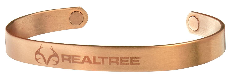 Sabona Men's Realtree Brushed Copper Wristband - 440 1021M4