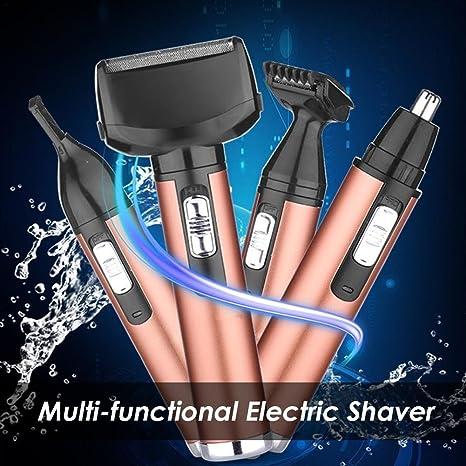 arvin87lyly multifuncional afeitadora eléctrica recargable Hombre ...