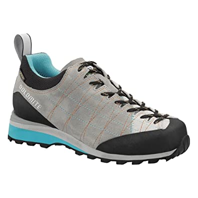 Dolomite Diagonal GTX Women Shoes Grey Blue Trekking Hiking  Amazon ... bbba7290666