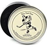 Slap Shot Soap-100% Natural & Hand Made. Scented with Essential Oils. Convenient Travel Gift Tin. Great For Hockey Skating Fans.