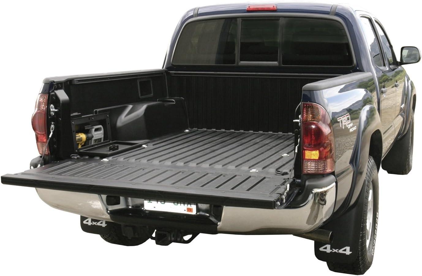 Black Toyota Tacoma Truck Bed Security Lockbox