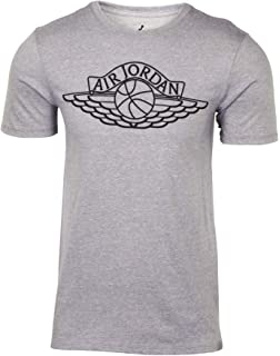 527762050d59 Jordan Air Mens Iconic Lifestyle Wings T-Shirt Tee AR2831-687 Size M