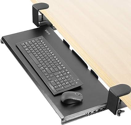 VIVO - Bandeja para teclado para debajo del escritorio ...