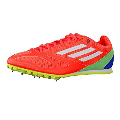 Adidas Techstar Allround 3 Running Spikes  11  Orange