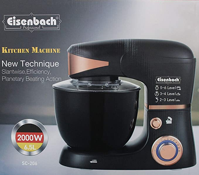 Eisenbach - Batidora amasadora con LED (6, 5 L): Amazon.es