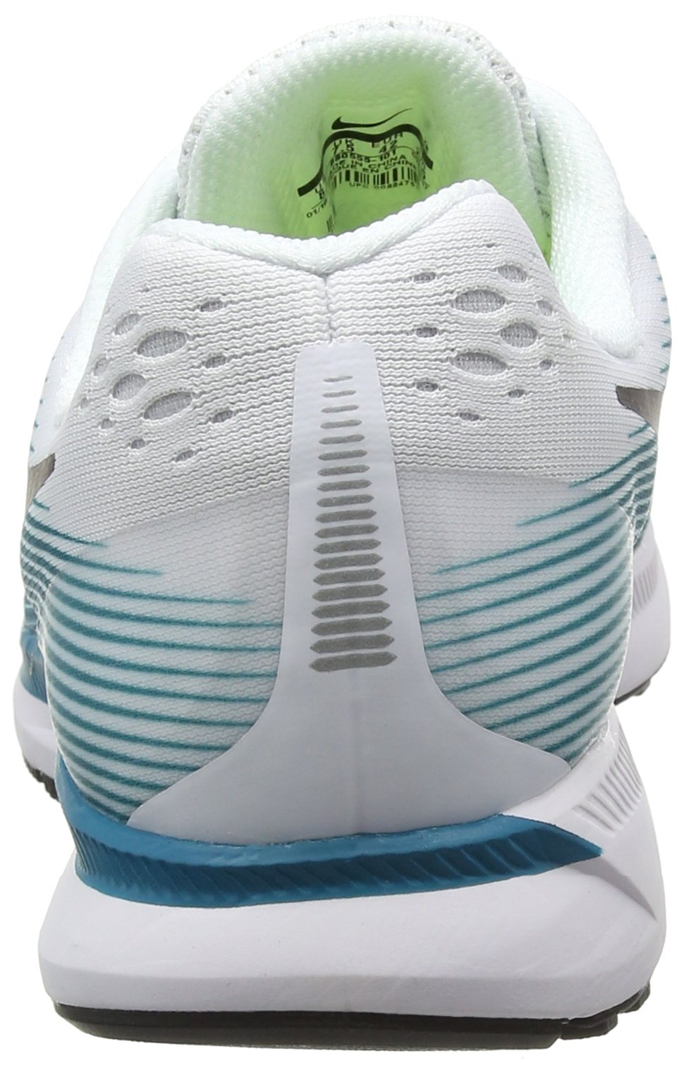 Nike Men's Air Zoom Pegasus 34 White / Black - Blustery 880555-101 (11.5) by NIKE (Image #2)