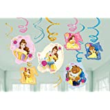 Beauty and the Beast Hanging Swirls (12 ct)